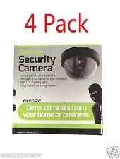 4 Pack Realistic Dome Security Camera - Imitation Surveillance Camera