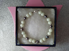 Beautiful Bracelet With Black Fresh Water Pearls