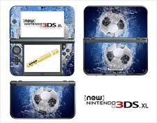SKIN STICKER AUTOCOLLANT - NINTENDO NEW 3DS XL - REF 153 FOOT