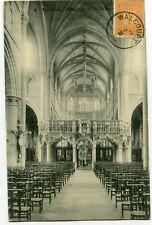 CPA - Carte Postale - Belgique - Walcourt - Intérieur de la Collégiale - 1913