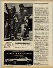 Camp Beverly Hills - Casa de Cadillac 1979 Print Ad