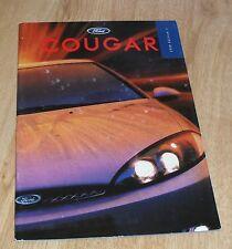 Ford Cougar Brochure 1998 - 2.0 16v & 2.5 24v Coupe