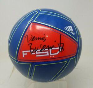 Skateboarder Dennis Busenitz Signed Soccer Ball