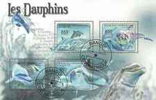Timbres Faune marine Dauphins Centrafrique 1976/9 o lot 16622 - cote : 15 €