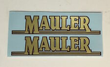 Se Racing Mauler or Basher Frame decals, pair-Choice either pair, offer 2 colors