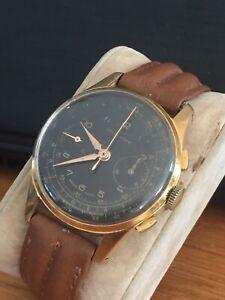 Belle Montre CHRONOGRAPHE SUISSE MADE Vitalis WATCH MONTRE chronometre .
