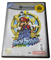Super Mario Sunshine Nintendo Gamecube (Player's Choice) PAL *No Manual*