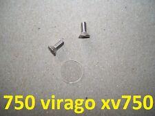 81-82 Yamaha Virago XV750 Brake Master Cylinder Sight Glass Lens Window