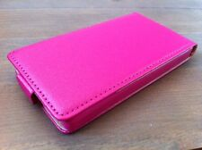Pochette Pocket Etui Slim Flip Leather Case Pink Coque Silicone ROSE Pr NOKIA X