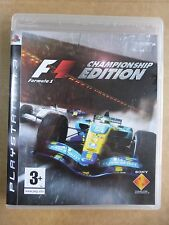 PLAYSTATION 3-F1 FORMULA ONE CHAMPIONSHIP EDITION