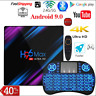 H96 MAX Android 9.0 Smart TV Box 4GB RAM 64GB Media player 4K Google Play Box