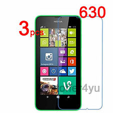 3x HD Clear Screen Protector Guard Film For Nokia Lumia 630 635 Protective Film