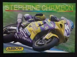Vintage Poster Stephane Chambon 2003 Arrow Suzuki GSX R600 Supersport Corona