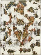 Design Vintage Picasso Aspect Jean Laver Persan Tapis D'Orient 3,18 X 2,32