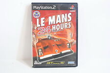 LE MANS 24 Hours PlayStation 2 PS PS2 Good Japan Import US Seller