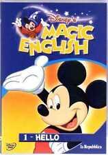 DVD • Disney's Magic English VOL 1 HELLO La Repubblica ITALIANO