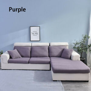 Stretch Chair Loveseat Sofa Cushion Protector Seat Cover Couch Cushion Cover US