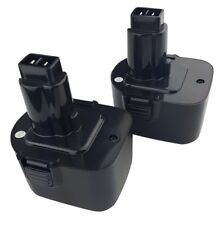 2 x Replacement 12V DEWALT DW9071 DW9072 Cordless Power Tool Battery(s)