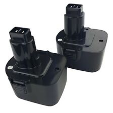 2 x Replacement 12V DEWALT DW9071 DW9072 Cordless Power Tool Battery(s)