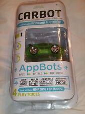 Desk Pets CarBot Green Fast N Furious Micro Robotic RaceCar Remote Control Car