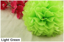"10"" Tissue Paper Pom Poms Flower Ball Wedding Birthday Party Decoration Color 11"