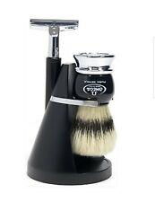 OMEGA Shaving Set Shaving Brush And Shaving Razor Shaving Stand New Luxury