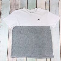Vintage NIKE Small Logo Spell Out T Shirt Tee White And Black | XL X Large