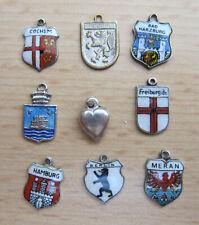 9 Wappen - Anhänger für Bettelarmband  ( 1 )