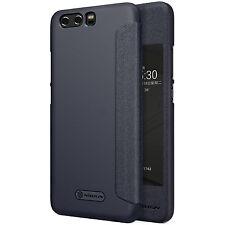 Nillkin Leder case für Huawei P10 Plus Smartcover Tasche Wake Up Bookstyle Hülle