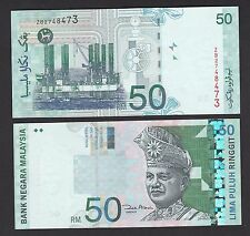 Malaysia 50 Ringgit (2000~2012) P43d REPLACEMENT #ZB - UNC HM