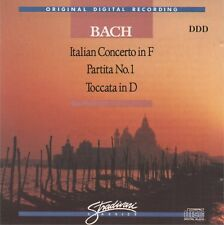 BACH - ITALIAN CONCERTO in F / PARTITA No.1 / TOCCATA in D- CD album