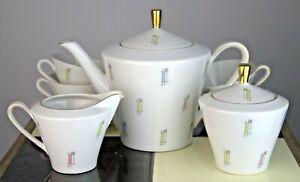 Kaffeeservice Teeservice Teekanne Bavaria Schumann Arzberg 50er 50s 60er 60s alt