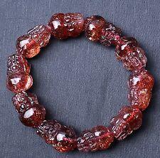 AAAA Natural Lepidocrocite Quartz Red Super Seven Pi Xiu Beads Bracelet