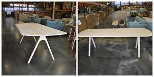 Ercol Corso 4272NM Large Table  in NATURAL MATT ASH  W240CM  D100 CM H75CM