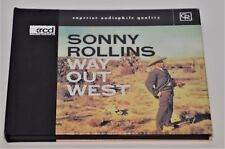 SONNY ROLLINS WAY OUT WEST - JVC XRCD RARE AUDIOPHILE 20 BIT REMASTERED