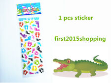 Foot Pattern Cartoon Scrapbooking Sticker Lot 1Pcs Handmade Kids Party Gifts Toy