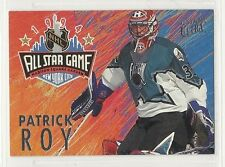 1994-95 Ultra Hockey - All Star Game - #6 - Patrick Roy - Montreal Canadiens