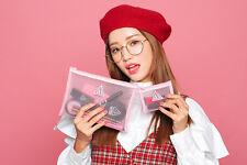 Stylenanda 3CE Mesh Pouch x Pink Rumour Makeup Pouch 2pcs Set Cosmetic Bag Cases