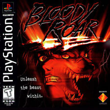 Bloody Roar PS1 Great Condition Fast Shipping