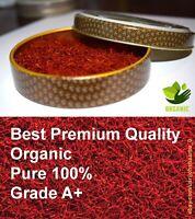 Organic Saffron Spice Pure 100% - 5 gram