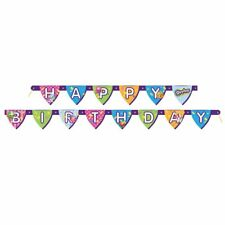 Shopkins Birthday Banner DECORATING KIT 6ft Long CLEARANCE
