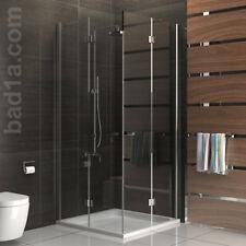 Duschabtrennung Duschkabine Dusche Schwingtür Duschwand 90x90 Eckeinstieg