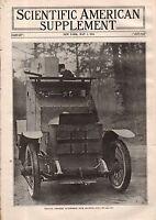 1915 Scientific American Supp May 1-Etrich-Taube Aeroplane;Ozone;Military trucks