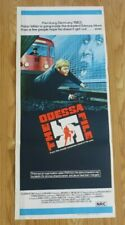 "THE ODESSA FILE ORIGINAL CINEMA DAYBILL POSTER 1974 Jon Voight 13"" X 30"" RARE"