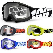 100% Prozent Accuri OTG Goggle Brille Klar DH MTB MX Downhill für Brillenträger