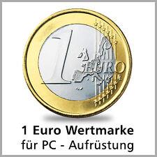 1 Euro Wertmarke für PC Aufrüstung