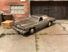 1977 Pontiac LeMans Rusty Weathered Custom 1/64 Diecast Car Barn Find Rust