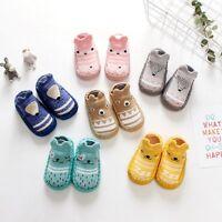 Newborn Baby Kids Toddler Anti Slip Shoes Cartoon Slipper Floor Socks Boots New