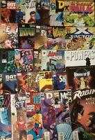Comic Book Lot of 50 No Duplicates 80's to 2000's Marvel,DC,Image,Dark Horse etc