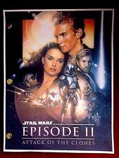 Star Wars™ EPISODE II Attack of the Clones LUCASFILM Rare Screenplay SCRIPT